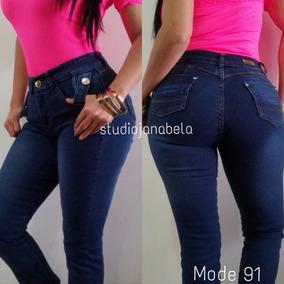 Studio Jeans Pantalon De Dama Moda Colombiana Levanta Cola