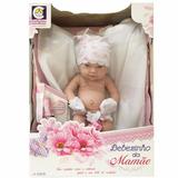Boneca Bebe Bebezinho Da Mamãe Fralda Luva Cotiplas