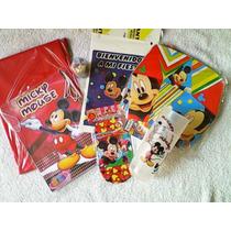 Combo De Fiesta De Mickey Mause 100 Piezas