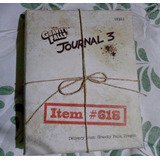 Gravity Falls Journal 3 Edición Especial Limitada + Obsequio