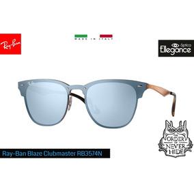 Óculos Ray- Ban Blaze Clubmaster Rb3576n 9039 1u - Espelhado a2dc3a196a