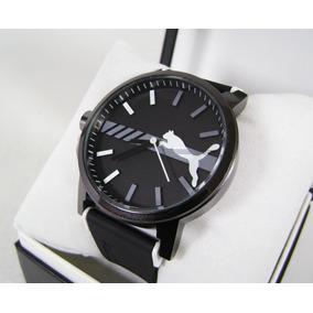 P U M A . Reloj Acero/ Caucho Nuevo Hermoso Ngn23