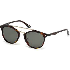 Óculos Gant Rugger Gr Tilden Satin Dark Gunmetal M - Óculos De Sol ... c2bd5cc4ad