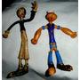 Par Antiguos Muñecos Olivia Y Popeye-juguete-coleccion