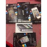 Iphone 4s 8gb Original Telcel Excelente + 4 Fundas Lifeproof