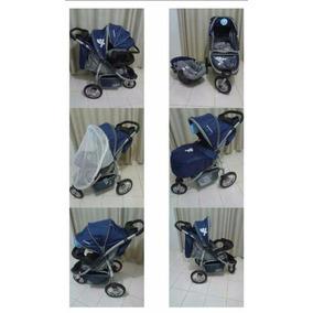 Carrinho Bebê Baby Happy Três Rodas Bebê Conforto Nota Fisc