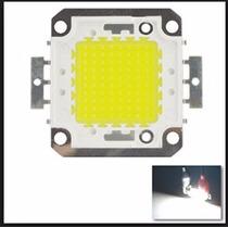 Chip Led 100w 34v 6500k Branco Frio Usado Em Refletor 100w
