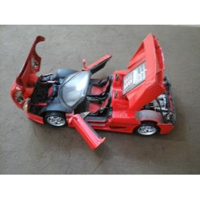 Ferrari F 50 1995 Maisto Acende Os Farois 1:18 25 Cm Metal