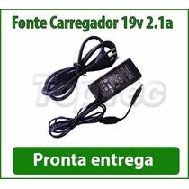 Fonte Carregador 19v 2.1a P/ Netbook Cce Winbook N23s N22s