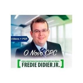 Curso Novo Cpc Em Video Aulas - Fredie Didier Comple