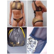 Traje De Baño Dama Sexy Animal Print Bikini