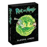 Juego De Cartas Poker Rick Y Morty