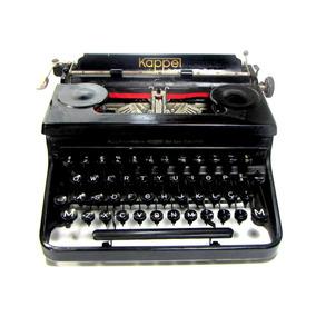 Rarissima Maquina Datilografia Maschinenfabrik Kappel 1930