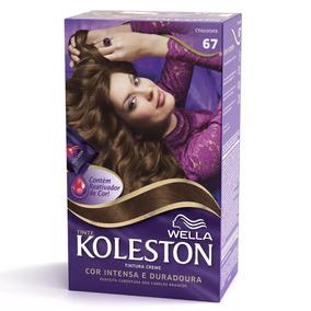 Tintura Koleston Kit Creme 67 Chocolate