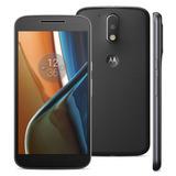 Aparelho Motorola Moto G4 Xt1626 Preto 16gb Original Apmt004