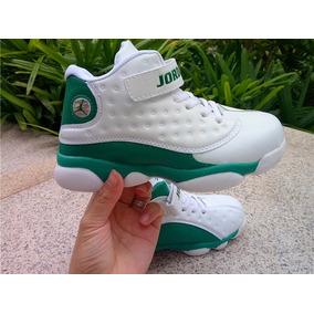 Tênis Nike Air Jordan 13 Verde/branco Original