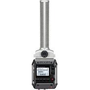 Gravador De Campo Zoom F1-sp Field Com Microfone Shotgun