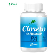 Cloreto De Magnesio P A 500mg 100 Capsulas 100% Puro