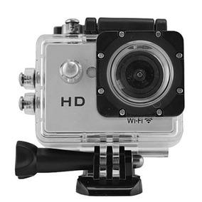 Câmera De Ação Lente De 170º / 720p / Wi Fi - Prata