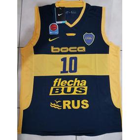 Camiseta Musculosa Nike Basquet De Boca Delfino 10