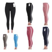 10 Leggings Mujer Deportivos Licra Gym Lote Mayoreo
