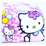 Cajita Golosinera Hello Kitty Pack X10 Valijitas Infantil