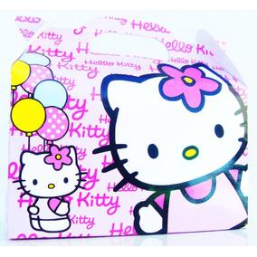 Bolsita Valijita Hello Kitty Souvenir Infantiles Pack X40
