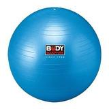 Bola Suiça Ginástica Pilates Body Sculpture 65 Cm Azul