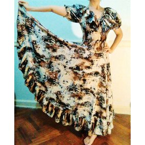 Vestido Folklore. Plato. Danza