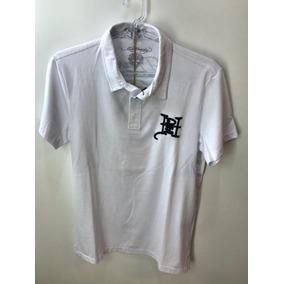 Camisa Polo Ed Hardy Branca Christian Audigier Masculina