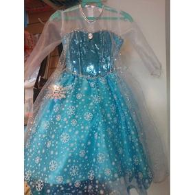 Vestidos Elsa Frozen Tallas 3,4,6,8