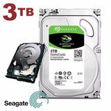 Hd Interno Desktop Seagate Sata3 3tb 3000gb Lacrado 7200rpm
