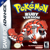 Versión Pokemon Ruby - Game Boy Advance