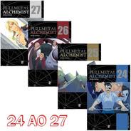 Fullmetal Alchemist 24 Ao 27 Edição De Luxo! Jbc! Lacrado