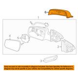Chevrolet Gm Oem Malibu Puerta Lado Espejo Retrovisor Tapa