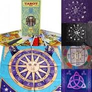 Pack Cartas Tarot Rider + Paño Astrologico C-bolsa Exclusivo