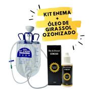 Kit Enema + 3 Sondas + Óleo Ozonizado + Manual Pdf