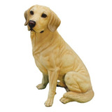 Diseño Toscano Golden Labrador Retriever Dog Statue