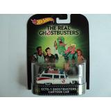Hot Wheels Retro *ecto 1 Ghostbusters Cartoon Car*