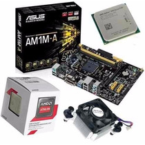 Kit Placa Asus Am1m-a/br + Amd Athlon 5350 Quad Core 4x Core