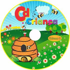 Cd Infantil - Músicas Personalizadas Com O Nome Da Criança