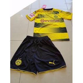 Kit Nños Dortmund Ttular 2017/18 Ho