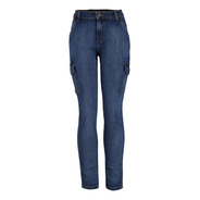Jeans Casual Lee Mujer Skinny Cargo H40
