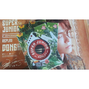 Super Junior/ Album Replay + Poster/ Edicion Especial