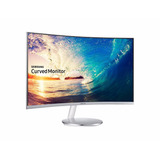 Monitor Curvo Led Samsung 27 Full Hd Cf591 Parlantes Slim C
