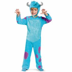 Disfraz Para Ni¿o De Sulley Monsters Inc- Halloween Talla