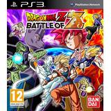 Dragon Ball Battle Of Z Playstation 3 Nuevo