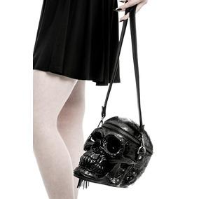 Killstar - Bolso Craneo Negro - Grave Digger Skull Handbag