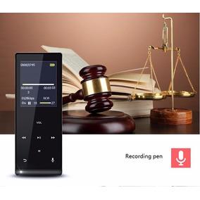 Mp4 Metal Mahdi 8gb Bluetooth Touch Play 20hrs Autofalante