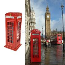 Alcancia De Metal Cabina Telefonica, Buzon Royal Mail Ingles